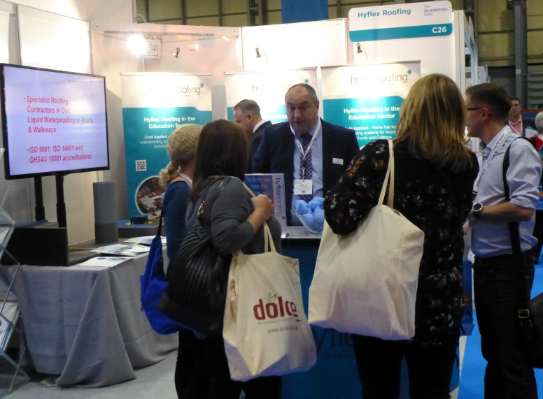 Busy day at the Academies Show